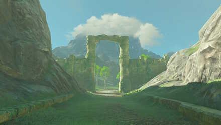 The Legend of Zelda Breath of the Wild (BotW) Photo 11 - Lanayru Road East Gate.jpg