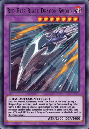 Red-Eyes Black Dragon Sword