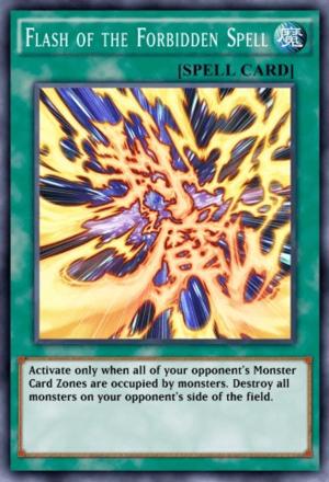 Flash of the Forbidden Spell