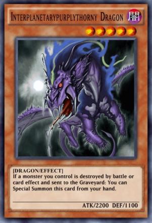 Interplanetarypurplythorny Dragon