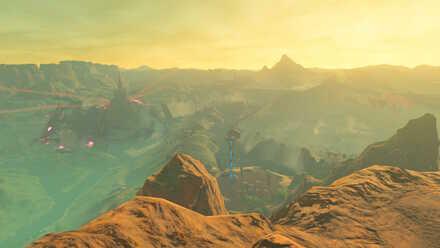 The Legend of Zelda Breath of the Wild (BotW) Photo 5 - Eldin Canyon.jpg