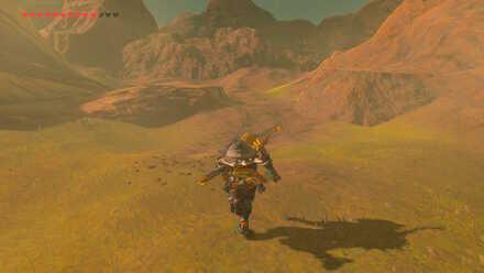 The Legend of Zelda Breath of the Wild (BotW) Going up Eldin Canyon.jpg