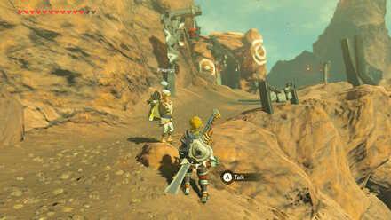The Legend of Zelda Breath of the Wild (BotW) Pikango in Goron City.jpg