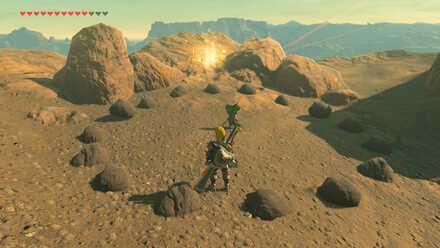 The Legend of Zelda Breath of the Wild (BotW) Eldin memory location.jpg