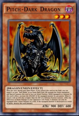 Pitch-Dark Dragon
