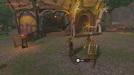The Legend of Zelda Breath of the Wild (BotW) Pikango in Woodland Stable.jpg