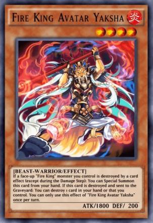 Fire King Avatar Yaksha