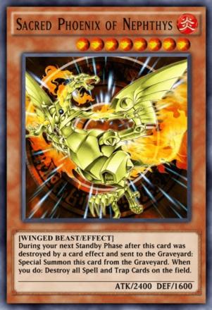 Sacred Phoenix of Nephthys