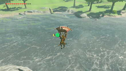 The Legend of Zelda Breath of the Wild (BotW) Crossing Hylia River.jpg
