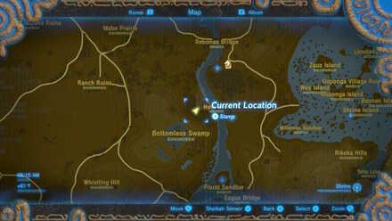 The Legend of Zelda Breath of the Wild (BotW) Photo 11 - Hyrule Field in Map.jpg