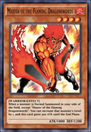 Master of the Flaming Dragonswords