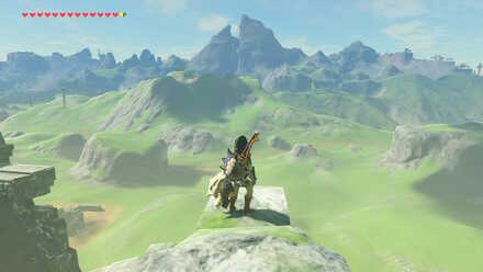 The Legend of Zelda Breath of the Wild (BotW) Glide to Scout