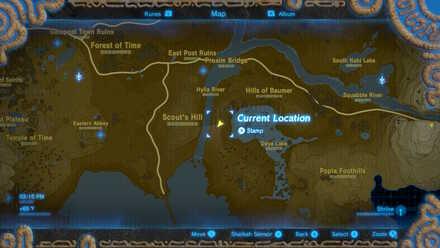 The Legend of Zelda Breath of the Wild (BotW) Photo 7 - West Necluda in Map.jpg