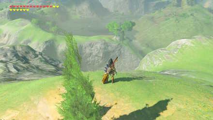 The Legend of Zelda Breath of the Wild (BotW) Photo 7 location below.jpg