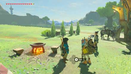 The Legend of Zelda Breath of the Wild (BotW) Pikango in Highland Stable.jpg