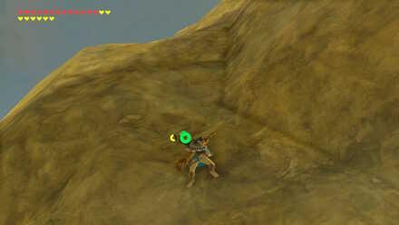 The Legend of Zelda Breath of the Wild (BotW) Climbing cliff.jpg