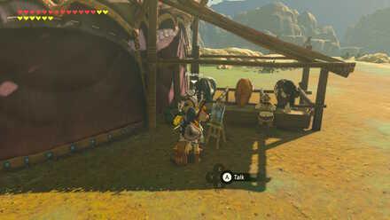 The Legend of Zelda Breath of the Wild (BotW) Pikango in Tabantha Bridge Stable.jpg