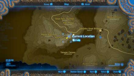 The Legend of Zelda Breath of the Wild (BotW) Photo 3 - Ancient Columns in map.jpg