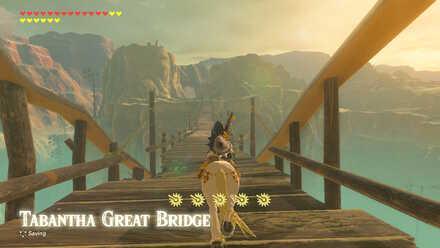 The Legend of Zelda Breath of the Wild (BotW) Tabantha Great Bridge.jpg
