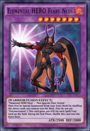 Elemental HERO Flare Neos
