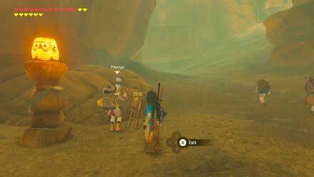 The Legend of Zelda Breath of the Wild (BotW) Pikango in Gerudo Canyon Stable.jpg