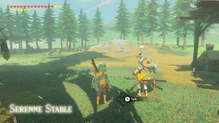 The Legend of Zelda Breath of the Wild (BotW) Pikango in Serenne Stable.jpg