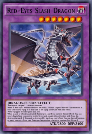 Red-Eyes Slash Dragon