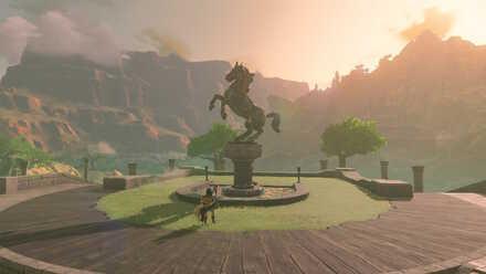 The Legend of Zelda Breath of the Wild (BotW) Photo 10 - Sanidin Park Ruins.jpg