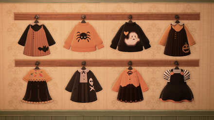 ACNH - Kiwite - Halloween Clothes