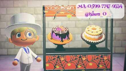 ACNH - Ai Shun - Halloween Cake