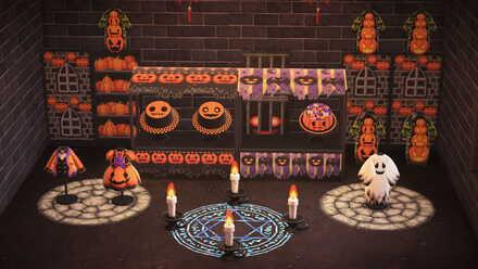 ACNH - Yuka - Halloween Stalls