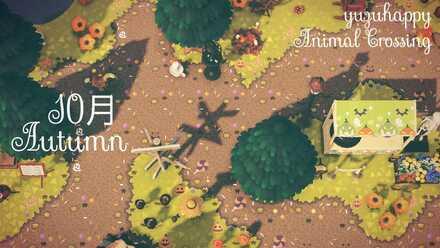 ACNH - Yuzu Hapi - Halloween-Style Dirt Path