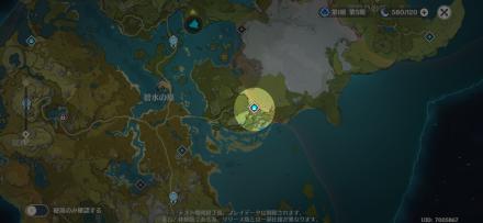 Hidden Palace of Lianshan Formula Map.png