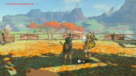 The Legend of Zelda Breath of the Wild (BotW) Pikango in East Akkala Stable.jpg
