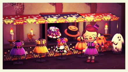 Animal Crossing New Horizons (ACNH) Top Halloween Custom Designs