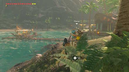 The Legend of Zelda Breath of the Wild (BotW) Pikango in Lurelin Village.jpg