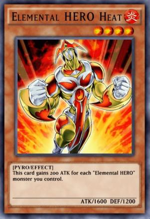 Elemental HERO Heat