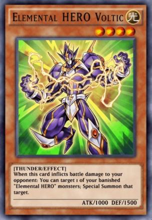Elemental HERO Voltic