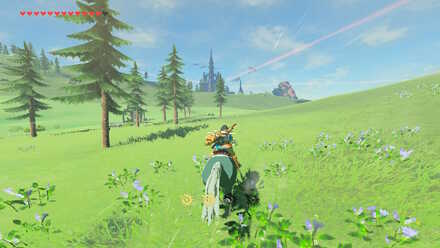 The Legend of Zelda Breath of the Wild (BotW) Going to west side of Hyrule Castle.jpg