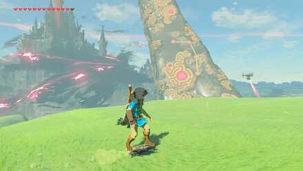 The Legend of Zelda Breath of the Wild (BotW) Hyrule Castle west.jpg