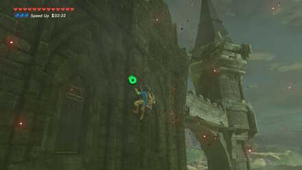 The Legend of Zelda Breath of the Wild (BotW) Climbing tower to spire.jpg