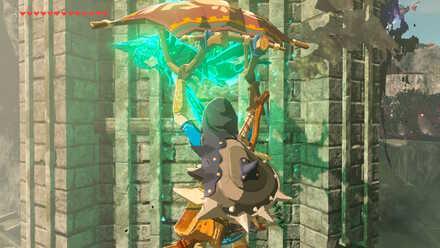 The Legend of Zelda Breath of the Wild (BotW) Using Revali