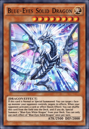 Blue-Eyes Solid Dragon