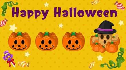 Animal Crossing New Horizons (ACNH) Happy Halloween