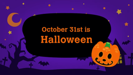 ACNH Halloween is on October 31