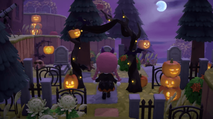 ACNH - Halloween Update - Pumpkin DIYs