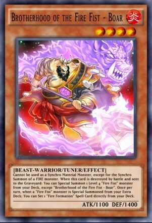 Brotherhood of the Fire Fist - Boar