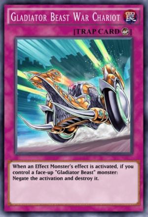 Gladiator Beast War Chariot