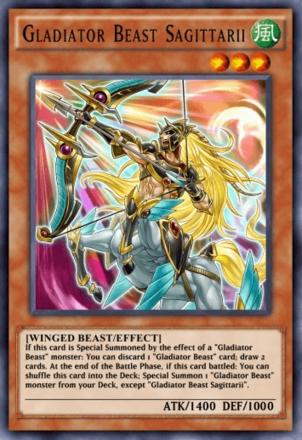 Gladiator Beast Sagittarii