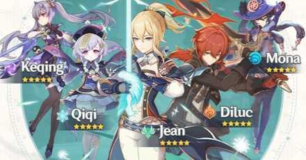 Genshin Impact - 5 Star Characters